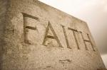 Faith inscription