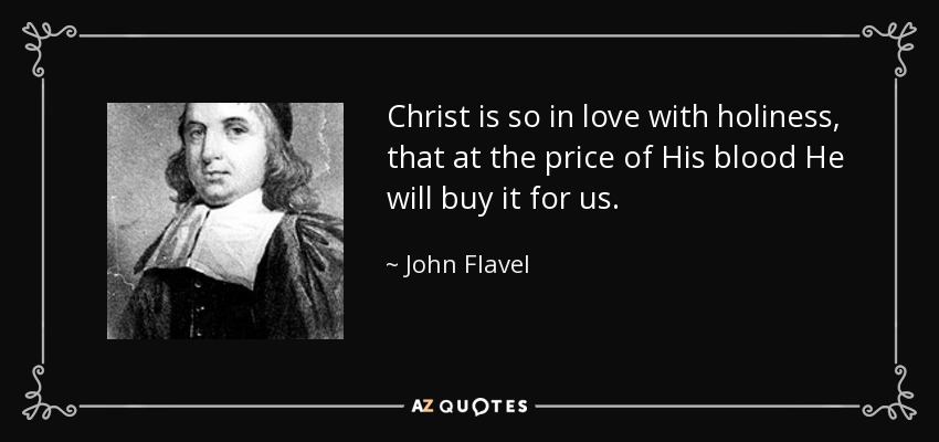flavel holiness