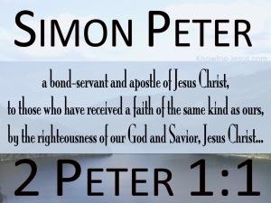 2 Peter 1-1