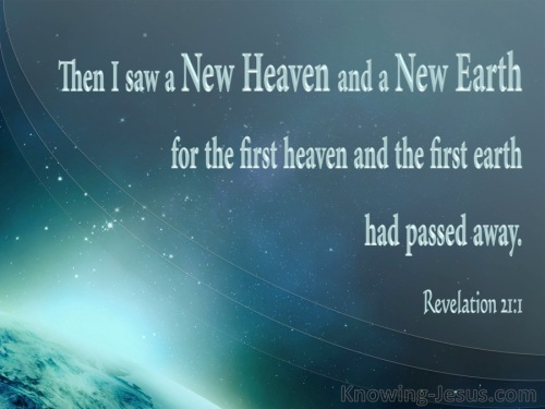 new heaven and earth